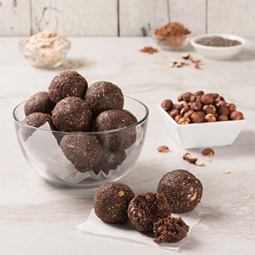 Boules chocolat noisette