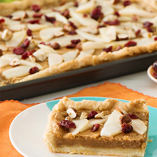 Hazelnut pie