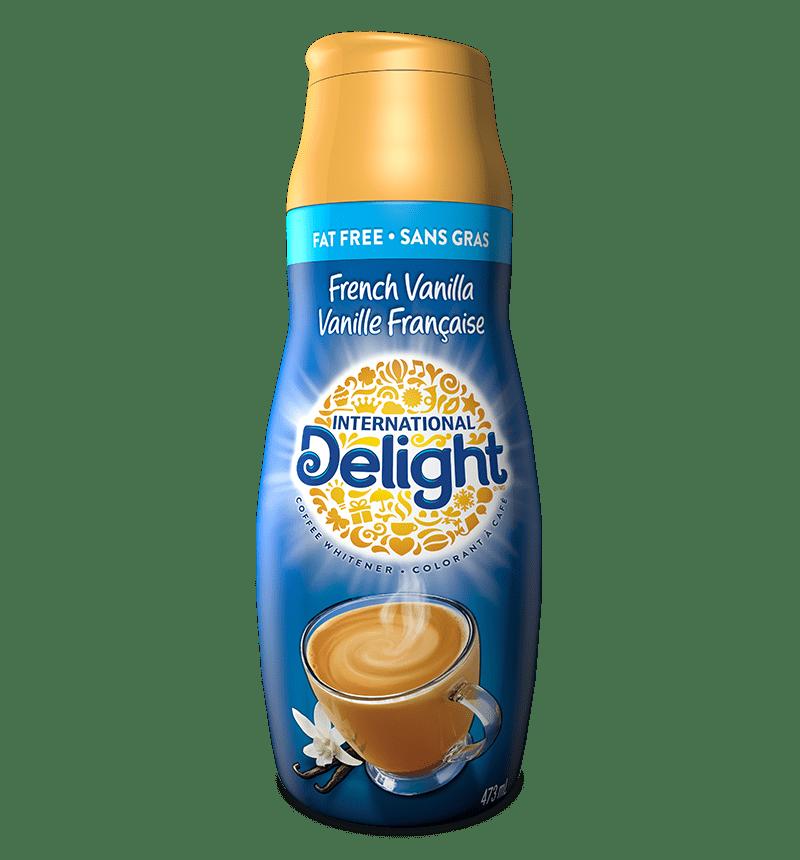 Coffee fat free french vanilla creamer