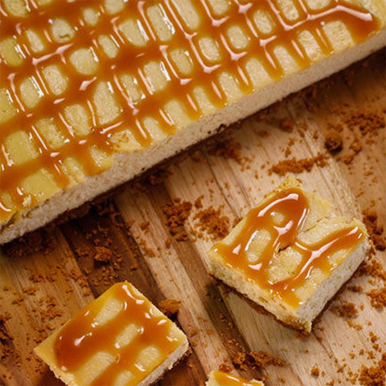 Gâteau au fromage caramel