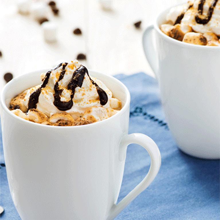 Smores mocha coffee