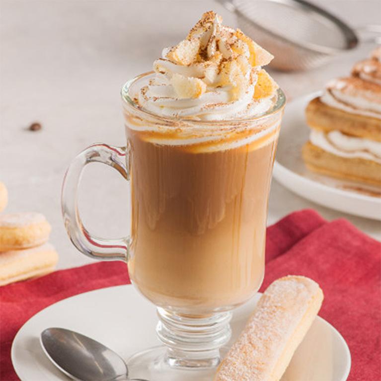 Tiramisu coffee drink recipe