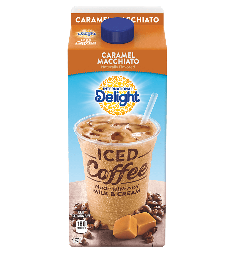 Caramel Macchiato Iced Coffee International Delight Canada