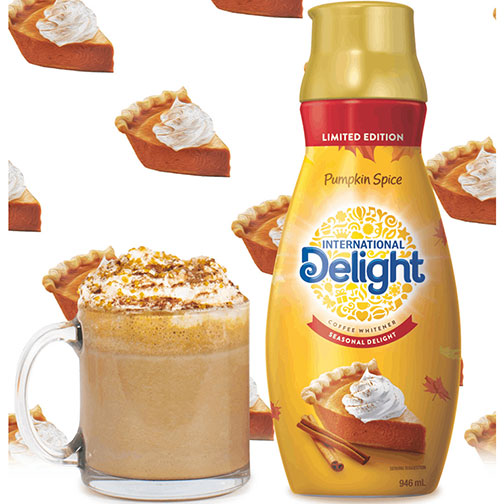 Spicy pumpkin latte